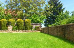 Gartenmauer zur Gestaltung